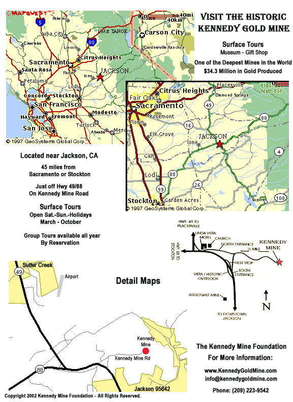 california gold rush map. California (printable map)